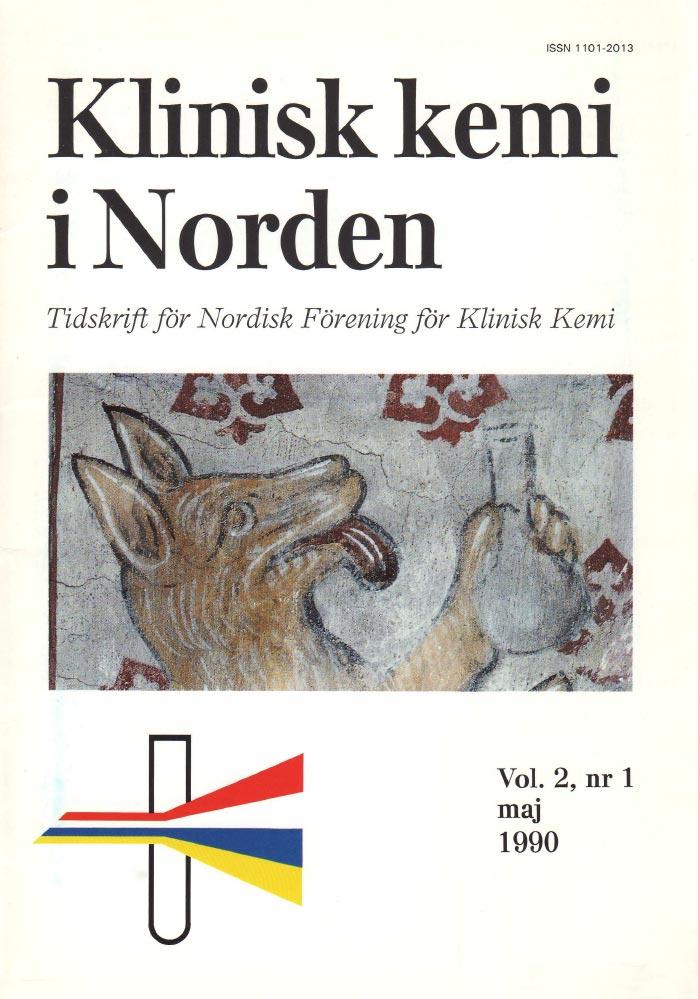 Klinisk Kemi i Norden – Nr. 1, vol. 2, 1990