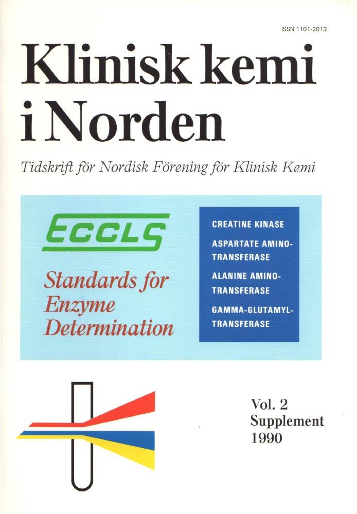 Klinisk Kemi i Norden – 1990 special issue