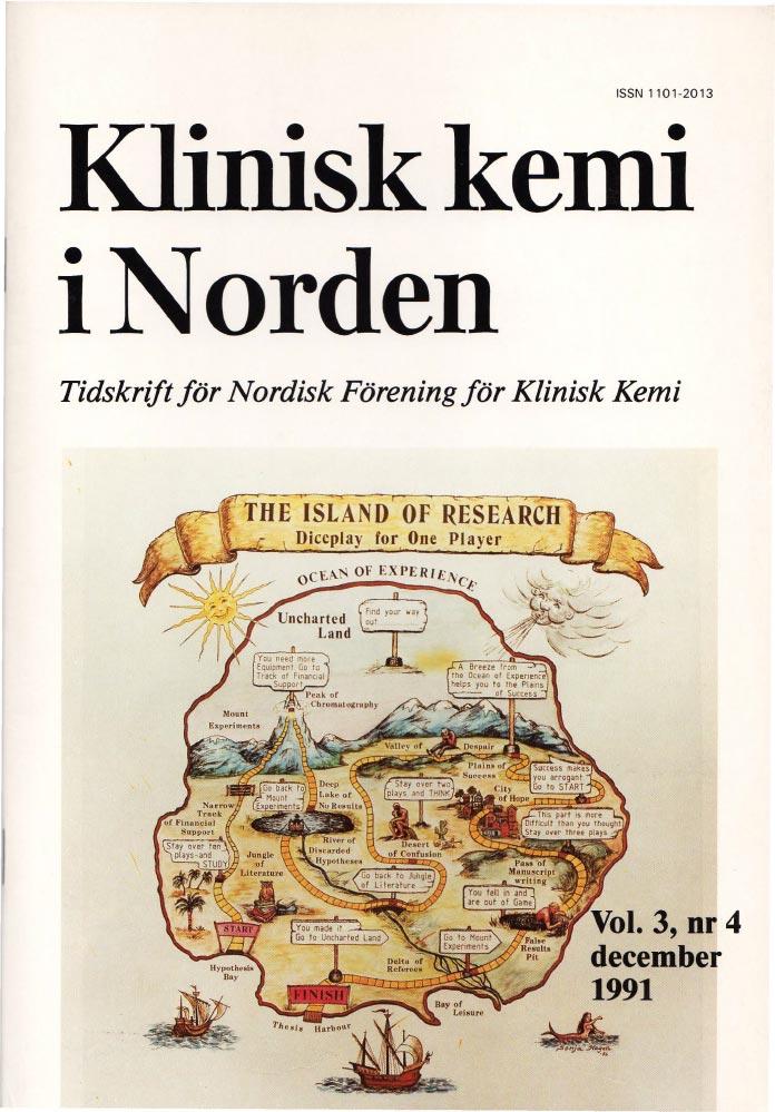 Klinisk Kjemi i Norden – Nr. 4, vol. 3, 1991