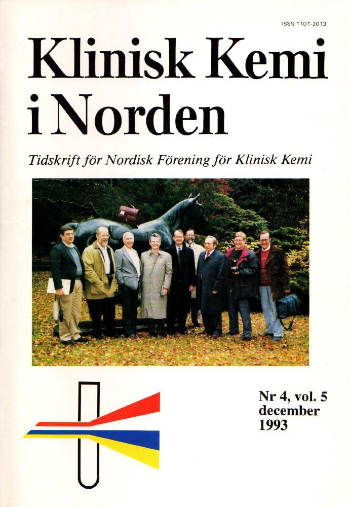 Klinisk Kjemi i Norden – Nr. 4, vol. 5, 1993