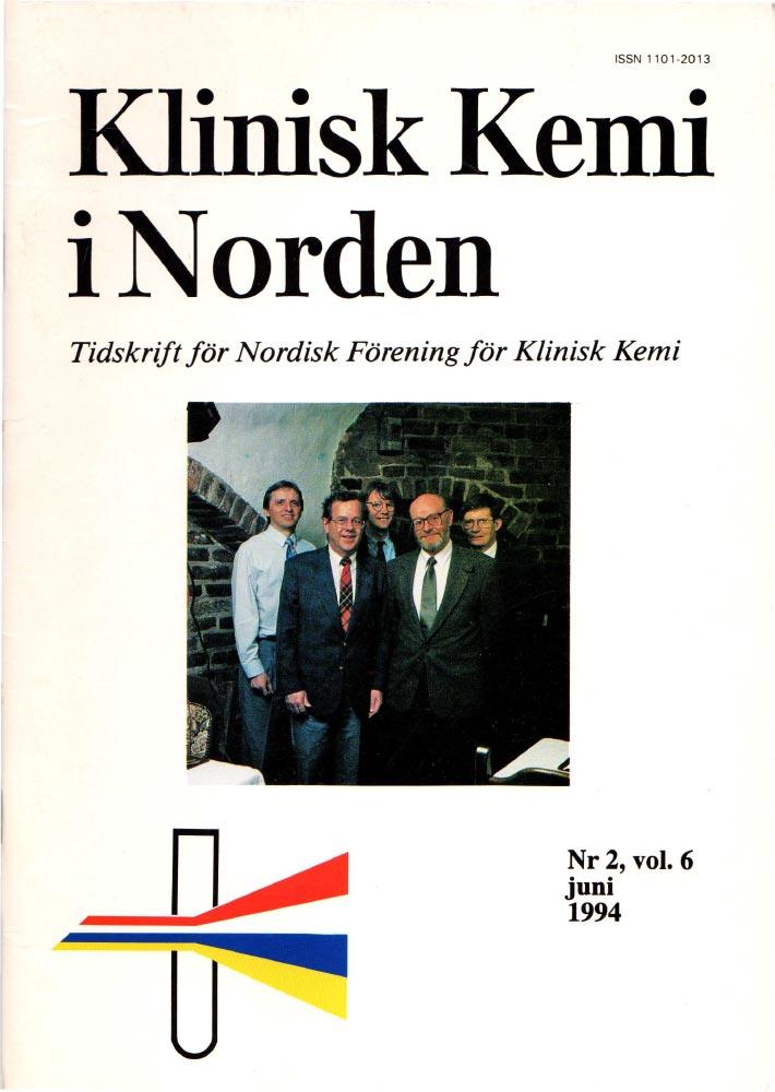 Klinisk Kjemi i Norden – Nr. 2, vol. 6, 1994
