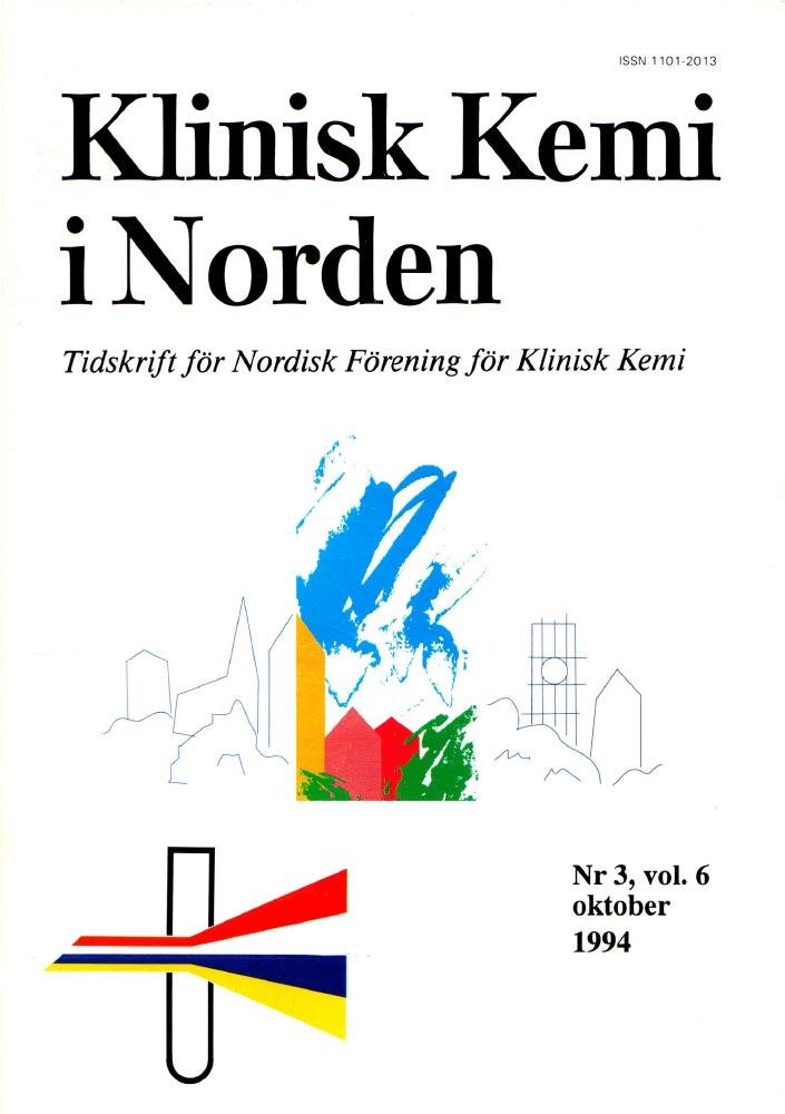 Klinisk Kjemi i Norden – Nr. 3, vol. 6, 1994