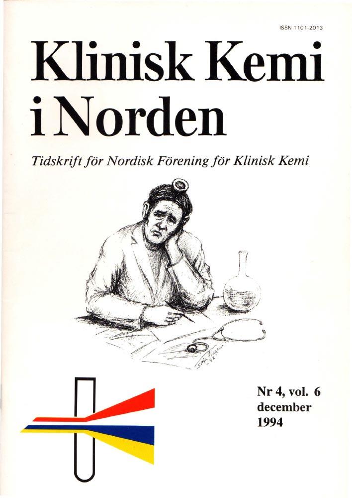 Klinisk Kjemi i Norden – Nr. 4, vol. 6, 1994