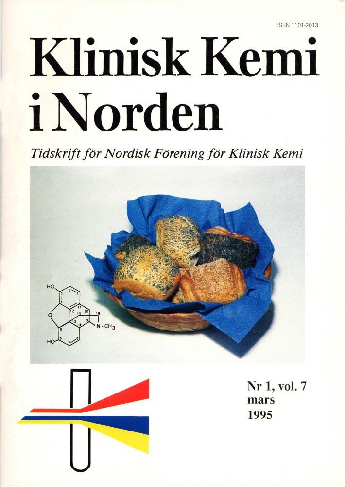 Klinisk Kjemi i Norden – Nr. 1, vol. 7, 1995