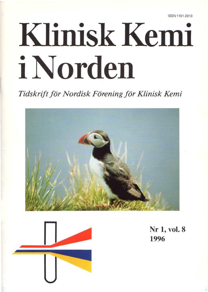 Klinisk Kjemi i Norden – Nr. 1, vol. 8, 1996