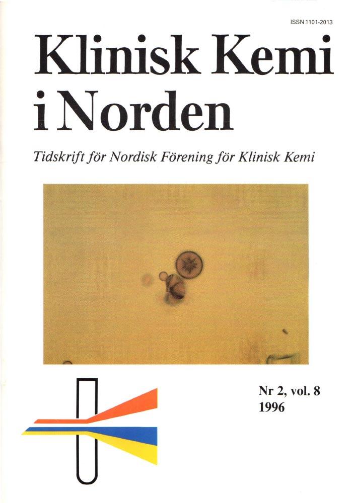 Klinisk Kjemi i Norden – Nr. 2, vol. 8, 1996
