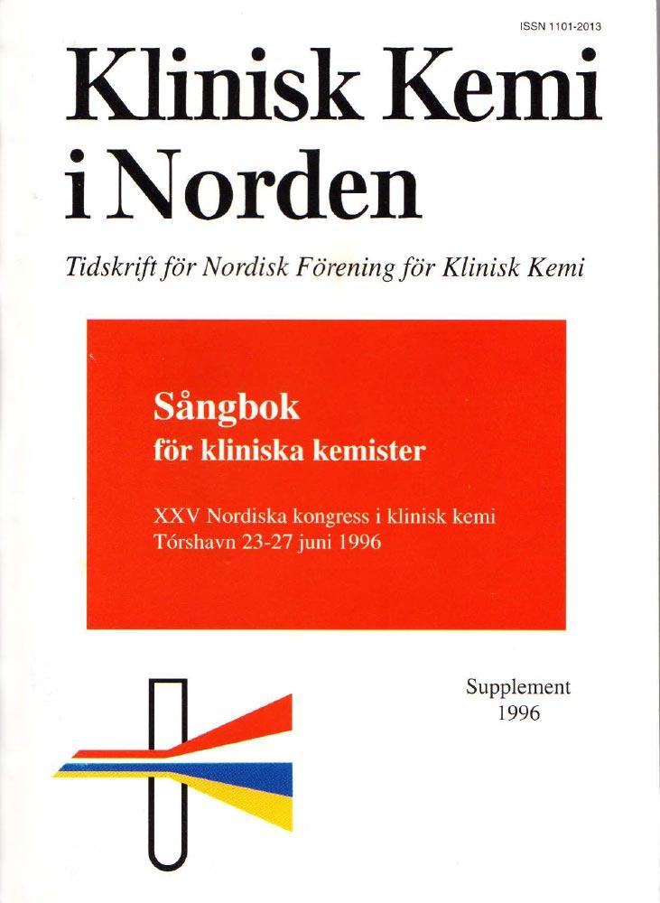 Klinisk Kjemi i Norden – 1996 special issue