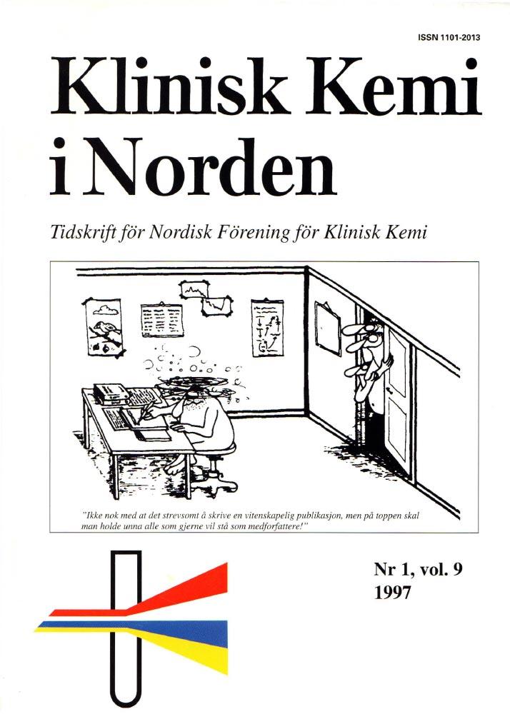 Klinisk Kjemi i Norden – Nr. 1, vol. 9, 1997