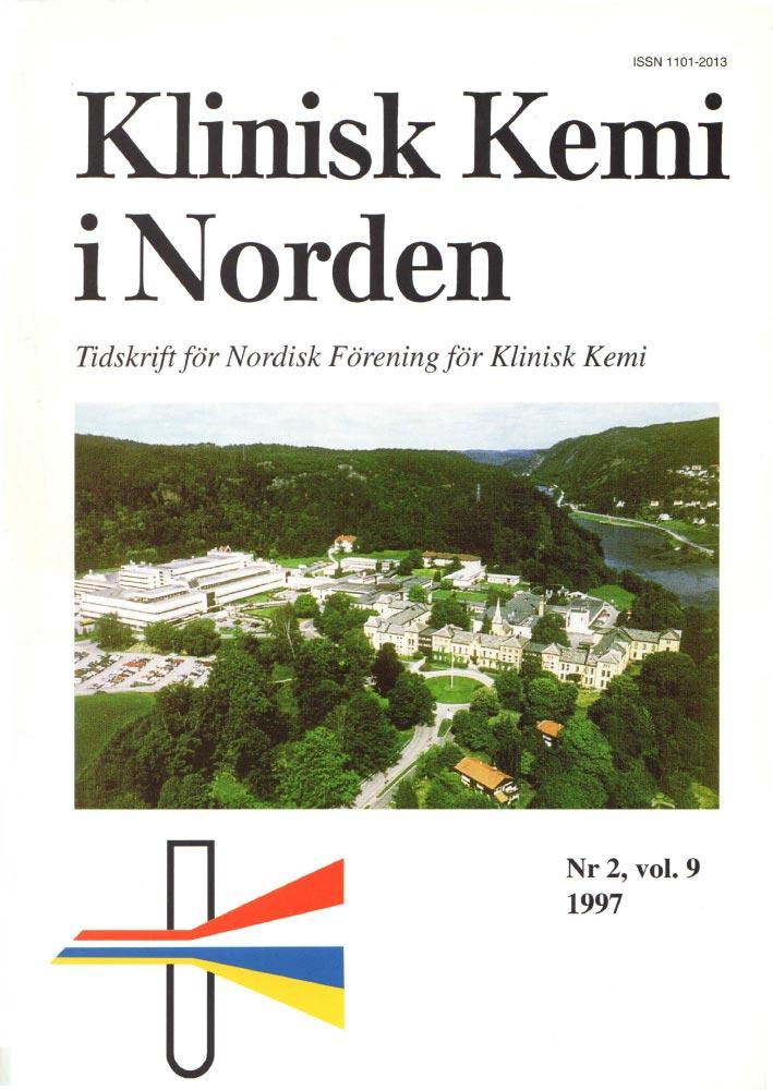 Klinisk Kjemi i Norden – Nr. 2, vol. 9, 1997