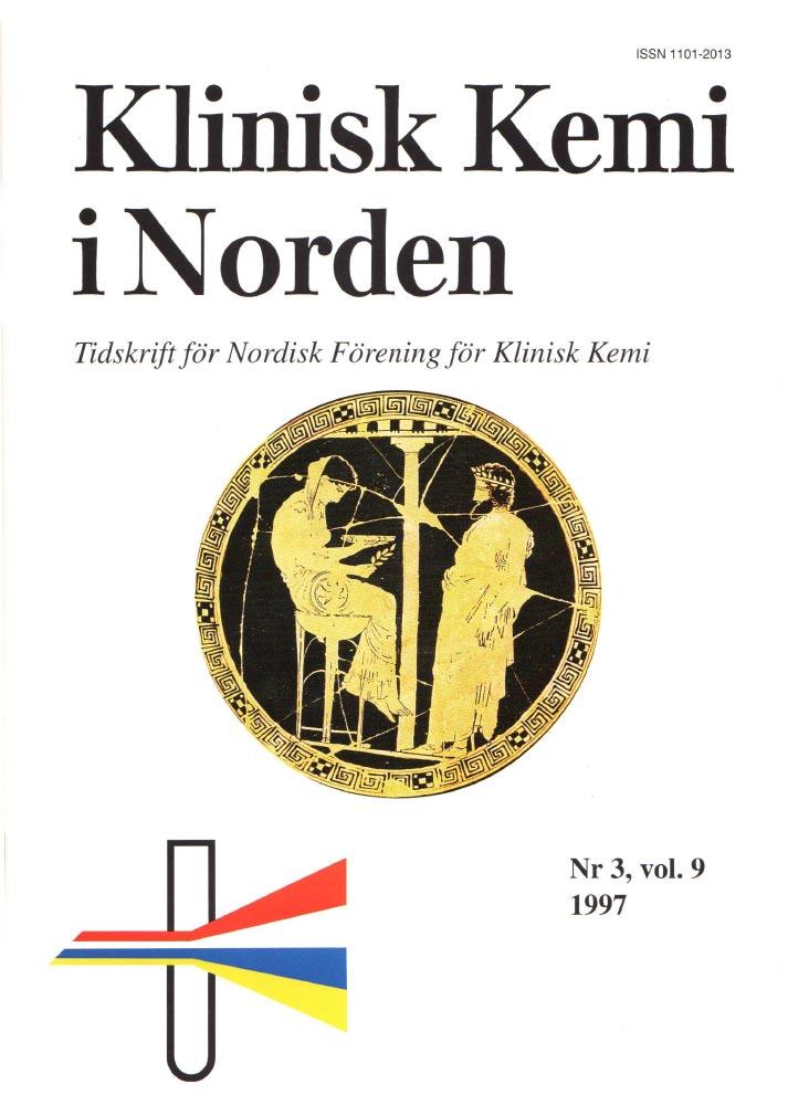 Klinisk Kjemi i Norden – Nr. 3, vol. 9, 1997