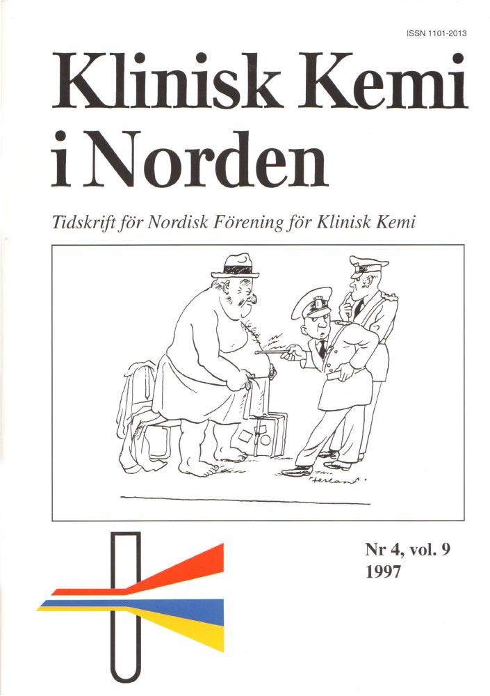Klinisk Kjemi i Norden – Nr. 4, vol. 9, 1997