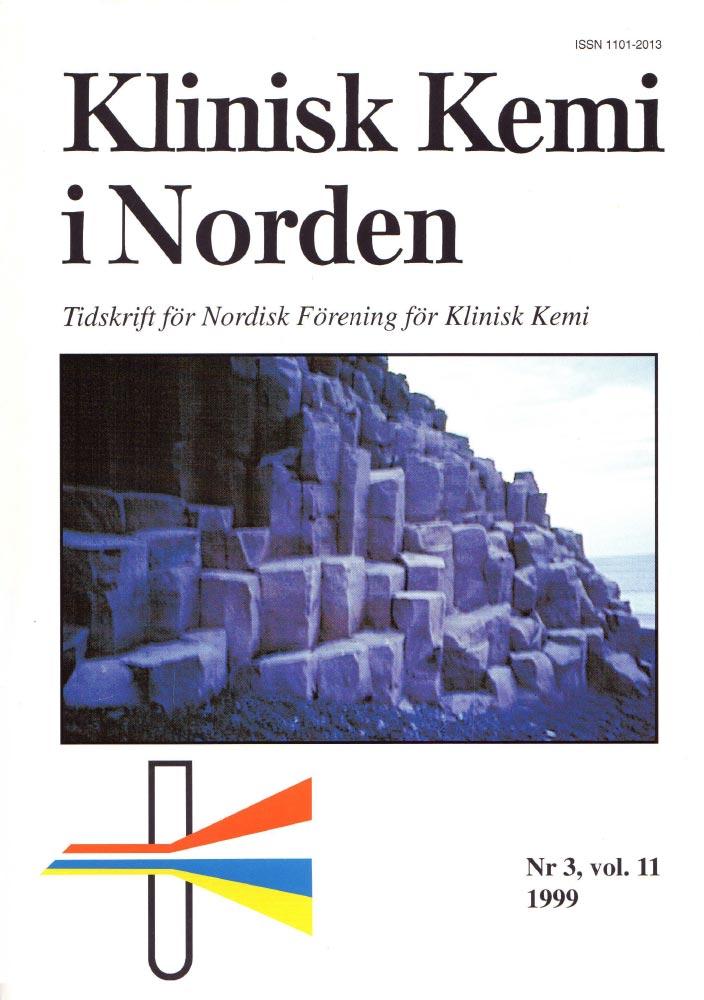 Klinisk Kjemi i Norden – Nr. 3, vol. 11, 1999