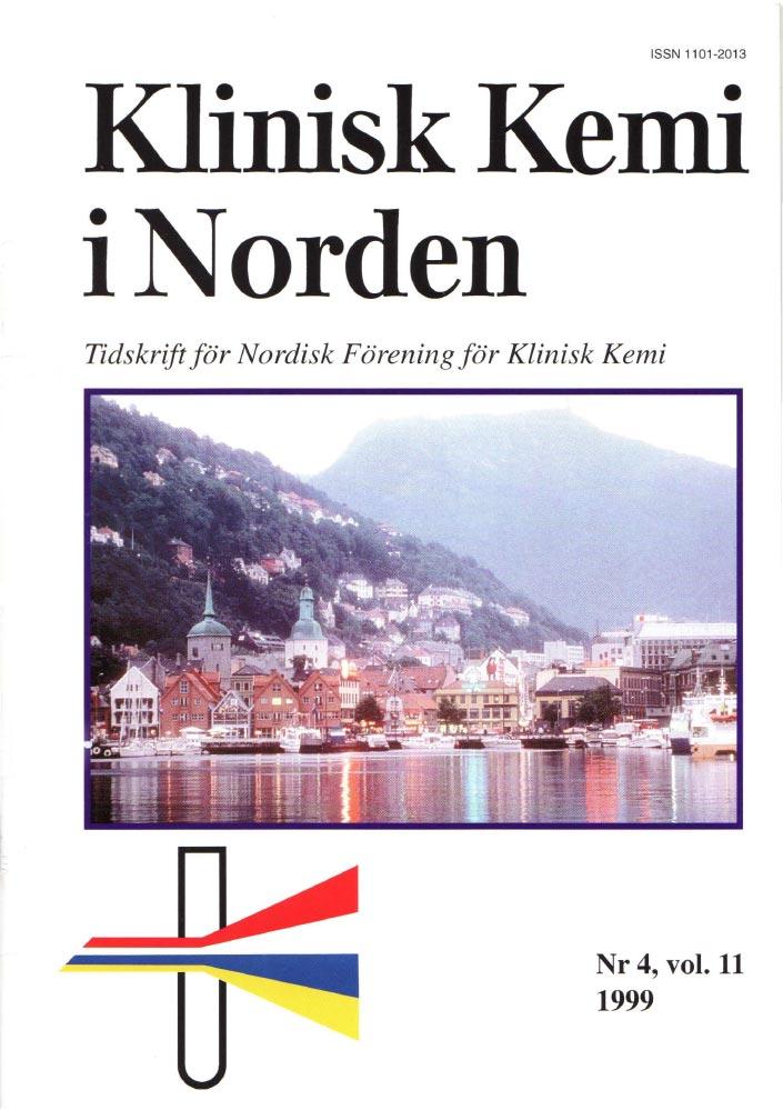 Klinisk Kjemi i Norden – Nr. 4, vol. 11, 1999