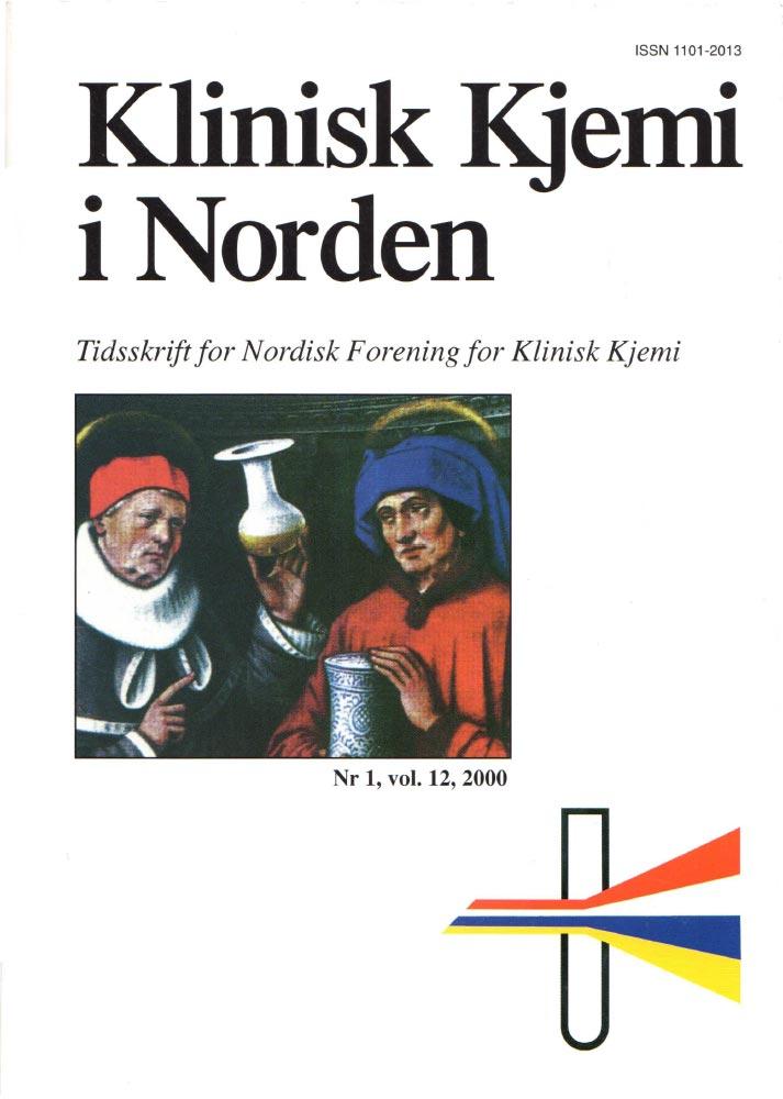 Klinisk Kjemi i Norden – Nr. 1, vol. 12, 2000