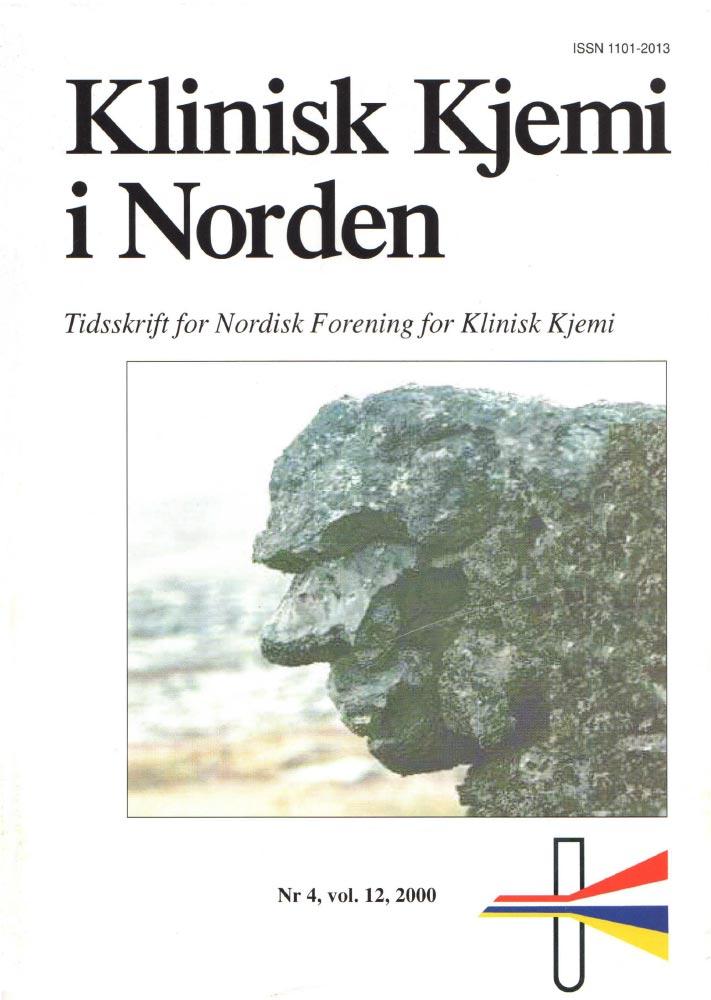 Klinisk Kjemi i Norden – Nr. 4, vol. 12, 2000