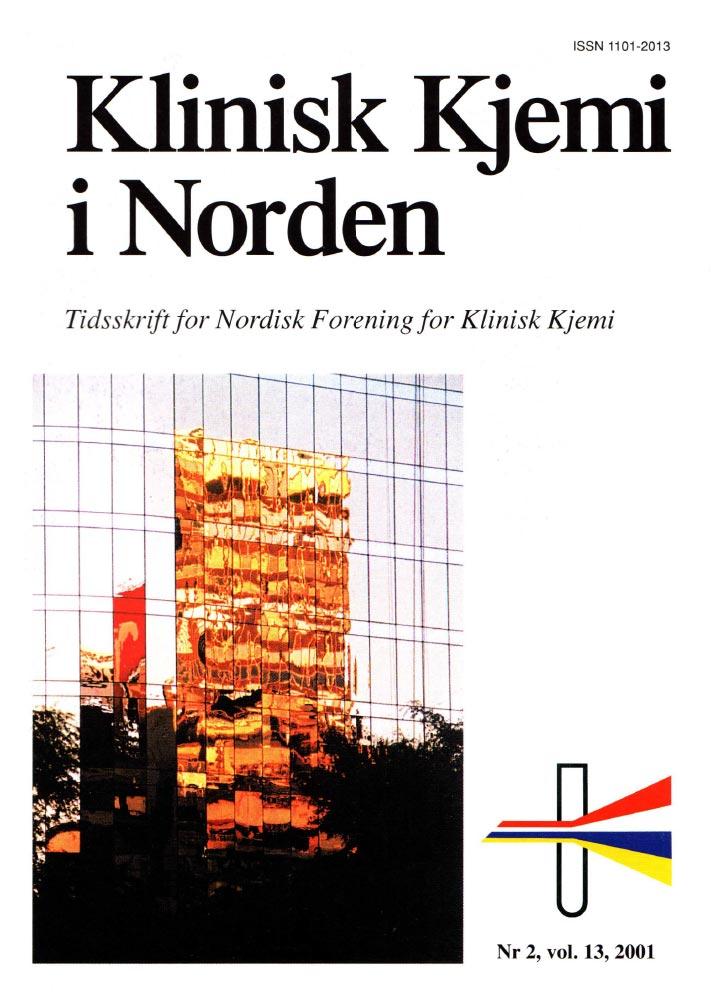 Klinisk Kjemi i Norden – Nr. 2, vol. 13, 2001