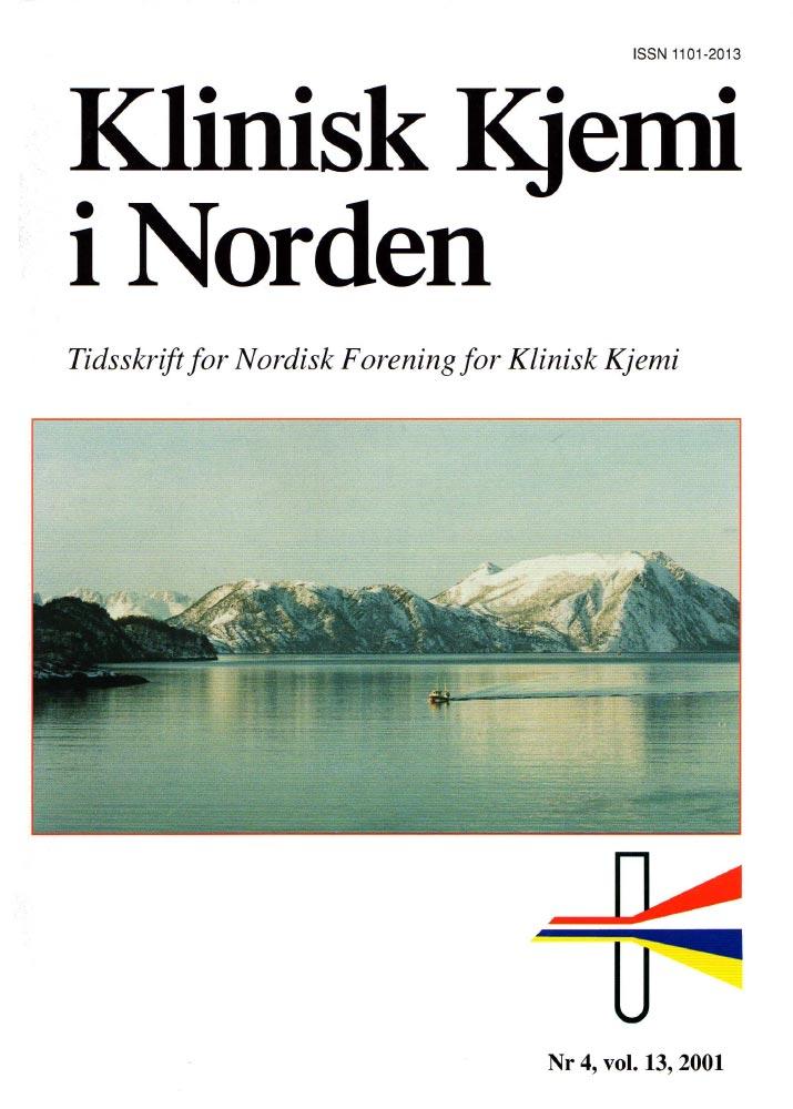 Klinisk Kjemi i Norden – Nr. 4, vol. 13, 2001