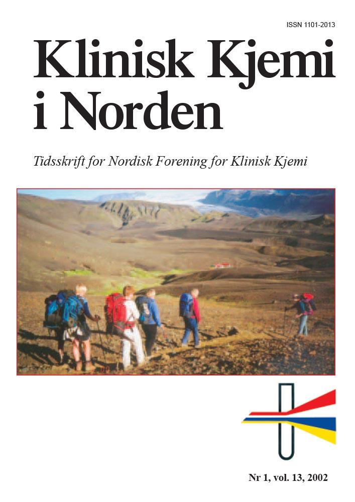 Klinisk Kjemi i Norden – Nr. 1, vol. 13, 2002