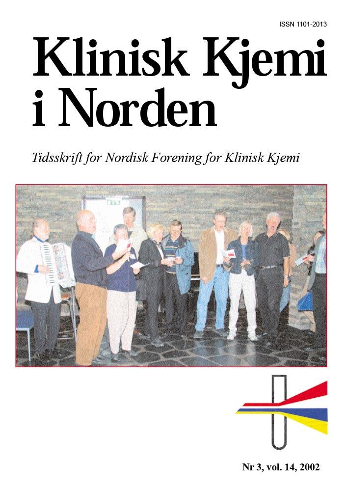 Klinisk Kjemi i Norden – Nr. 3, vol. 13, 2002