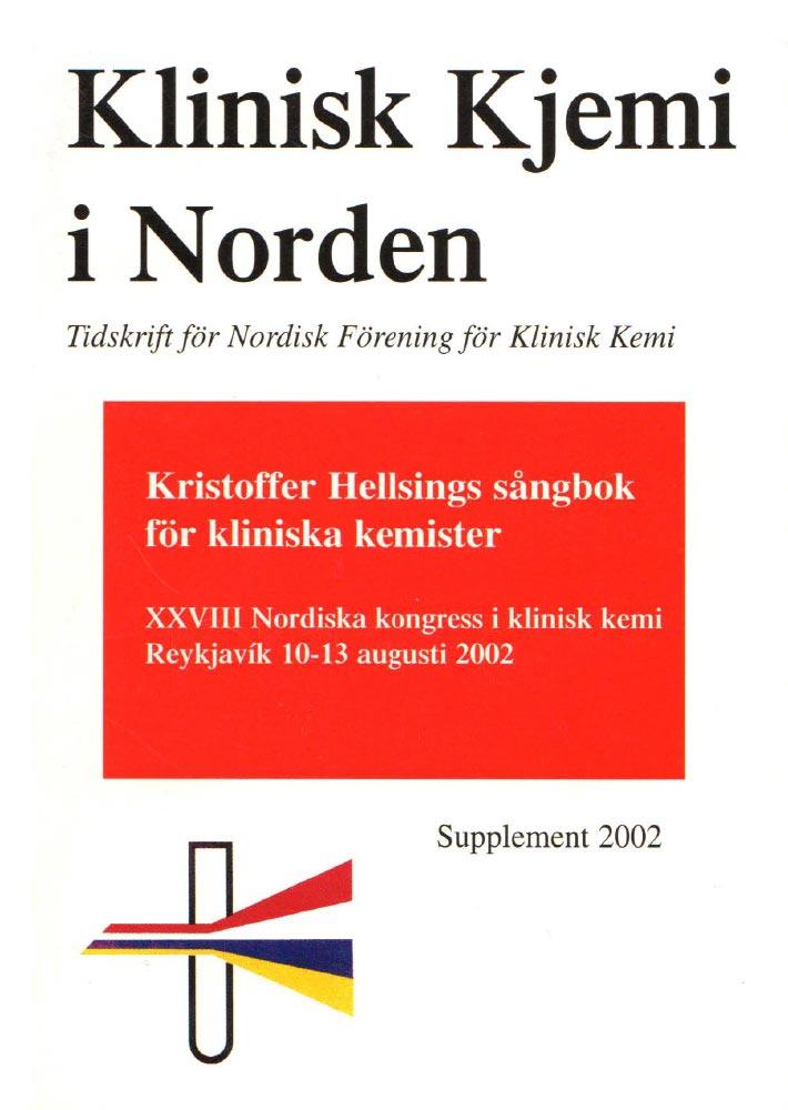 Klinisk Kjemi i Norden – 2002 special issue