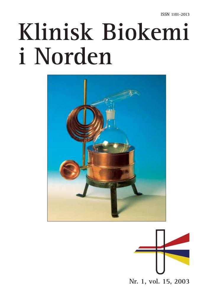 Klinisk Biokemi i Norden – Nr. 1, vol. 15, 2003