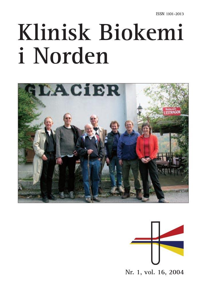 Klinisk Biokemi i Norden – Nr. 1, vol. 16, 2004