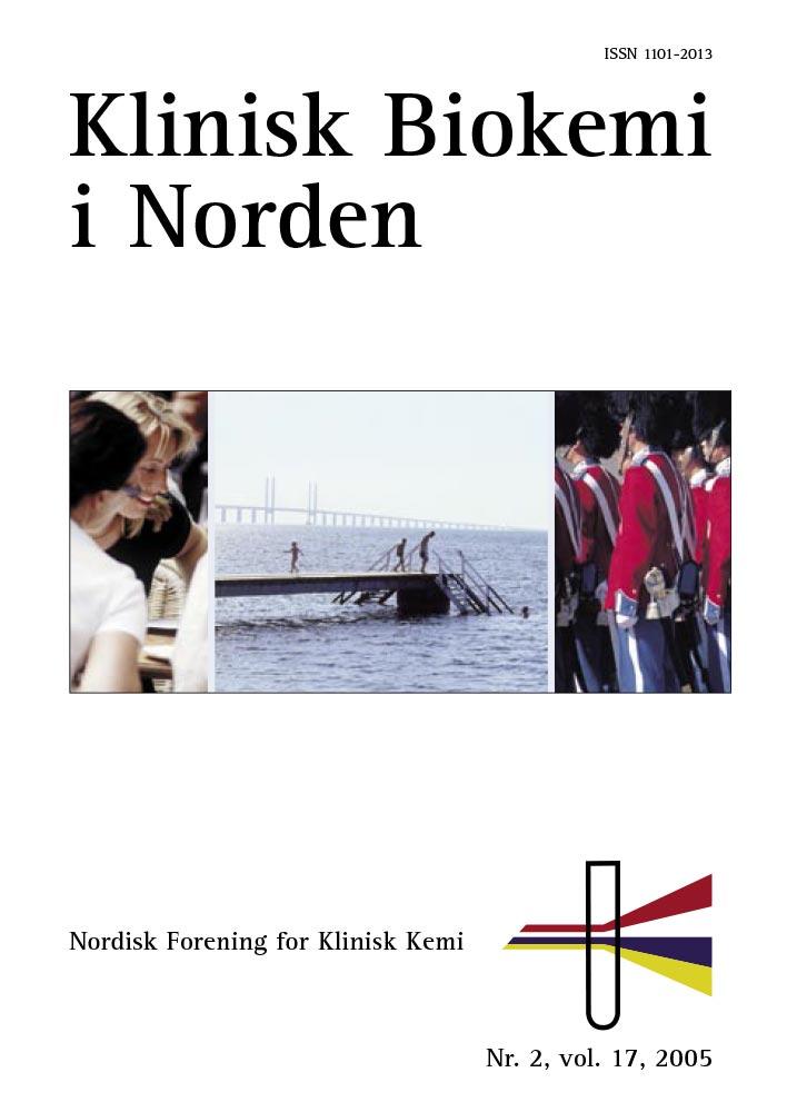 Klinisk Biokemi i Norden – Nr. 3, vol. 17, 2005