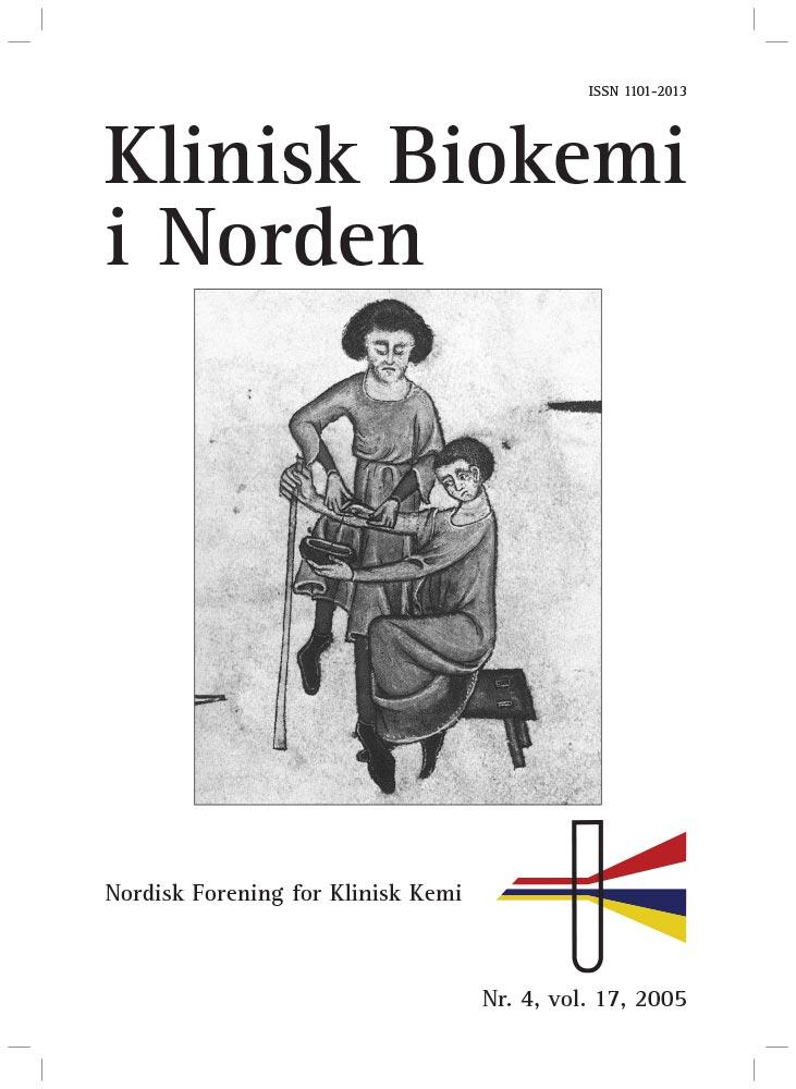 Klinisk Biokemi i Norden – Nr. 4, vol. 17, 2005