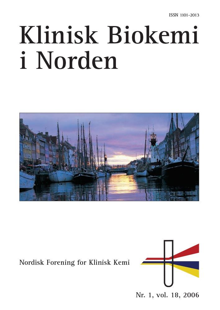 Klinisk Biokemi i Norden – Nr. 1, vol. 18, 2006