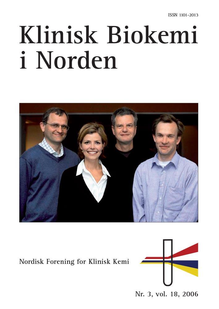 Klinisk Biokemi i Norden – Nr. 3, vol. 18, 2006