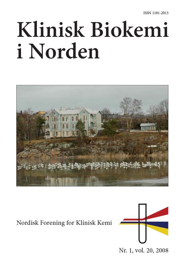 Klinisk Biokemi i Norden – Nr. 1, vol. 20, 2008