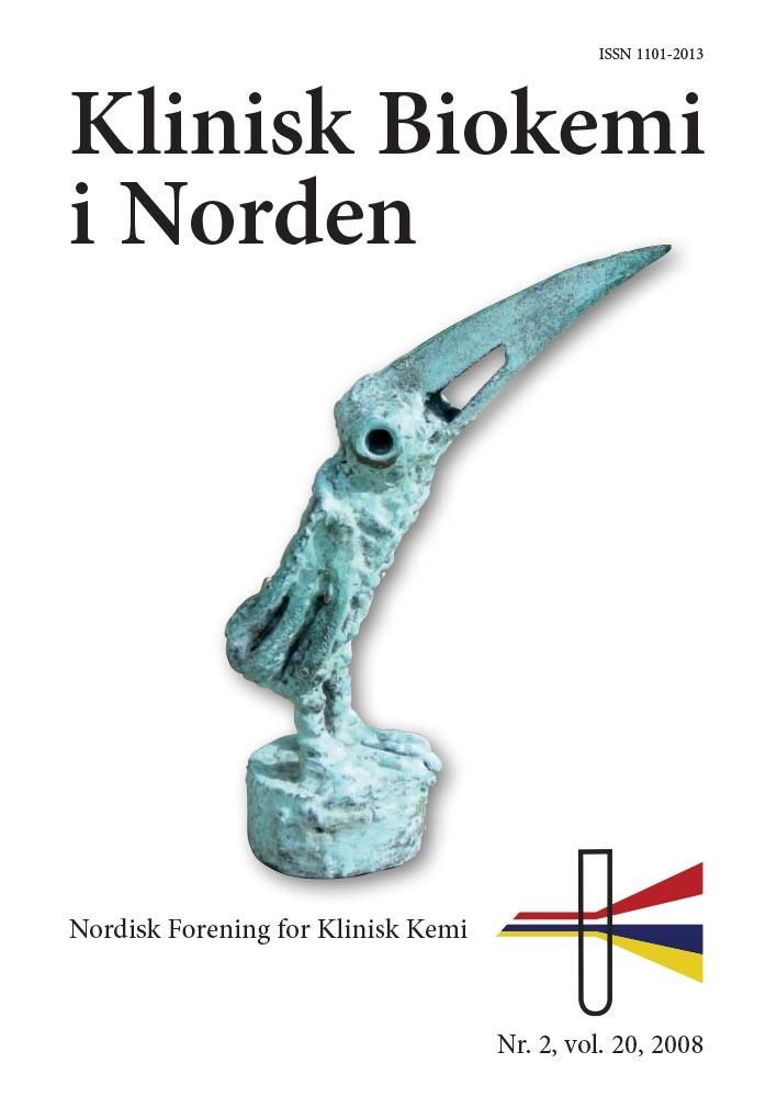 Klinisk Biokemi i Norden – Nr. 2, vol. 20, 2008