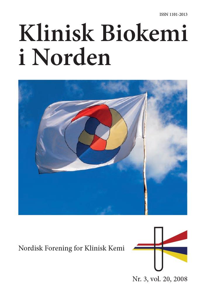 Klinisk Biokemi i Norden – Nr. 3, vol. 20, 2008