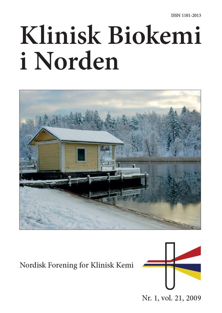 Klinisk Biokemi i Norden – Nr. 1, vol. 21, 2009