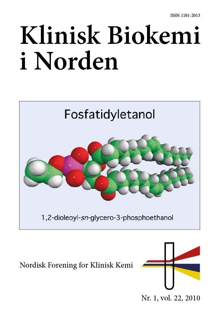 Klinisk Biokemi i Norden – Nr. 1, vol. 22, 2010