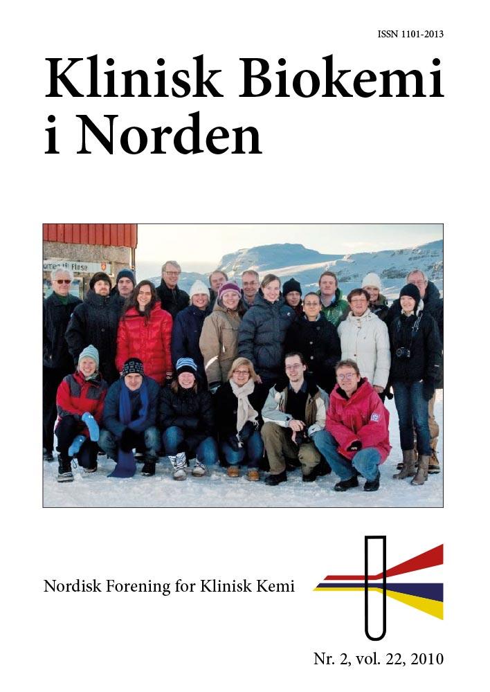 Klinisk Biokemi i Norden – Nr. 2, vol. 22, 2010