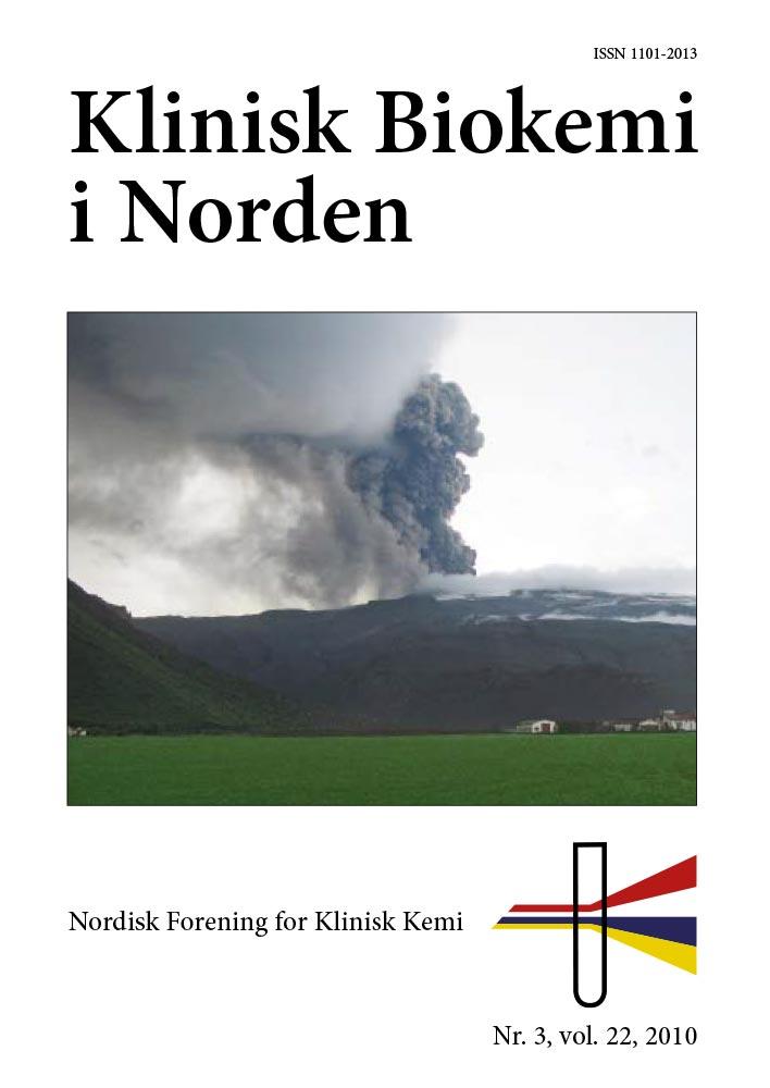 Klinisk Biokemi i Norden – Nr. 3, vol. 22, 2010