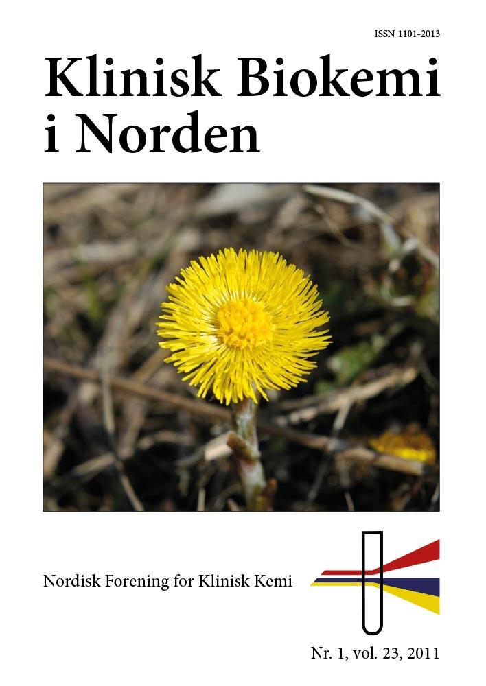 Klinisk Biokemi i Norden – Nr. 1, vol. 23, 2011