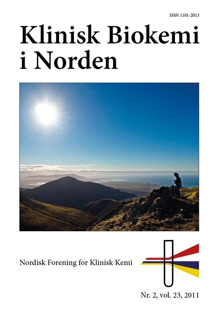 Klinisk Biokemi i Norden – Nr. 2, vol. 23, 2011