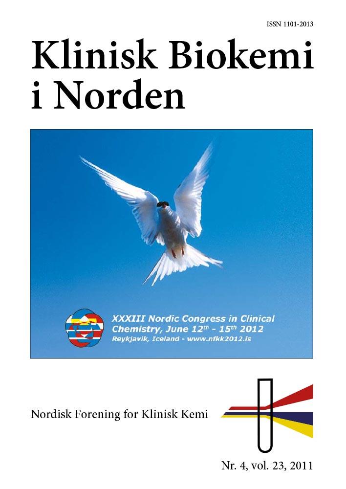 Klinisk Biokemi i Norden – Nr. 4, vol. 23, 2011