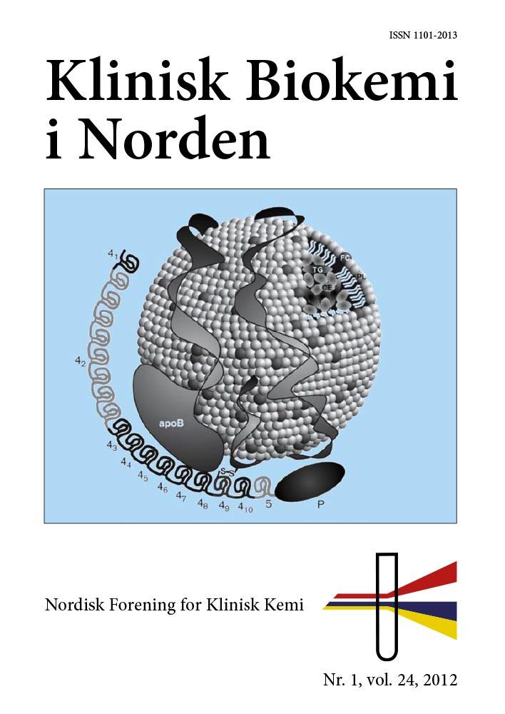 Klinisk Biokemi i Norden – Nr. 1, vol. 24, 2012