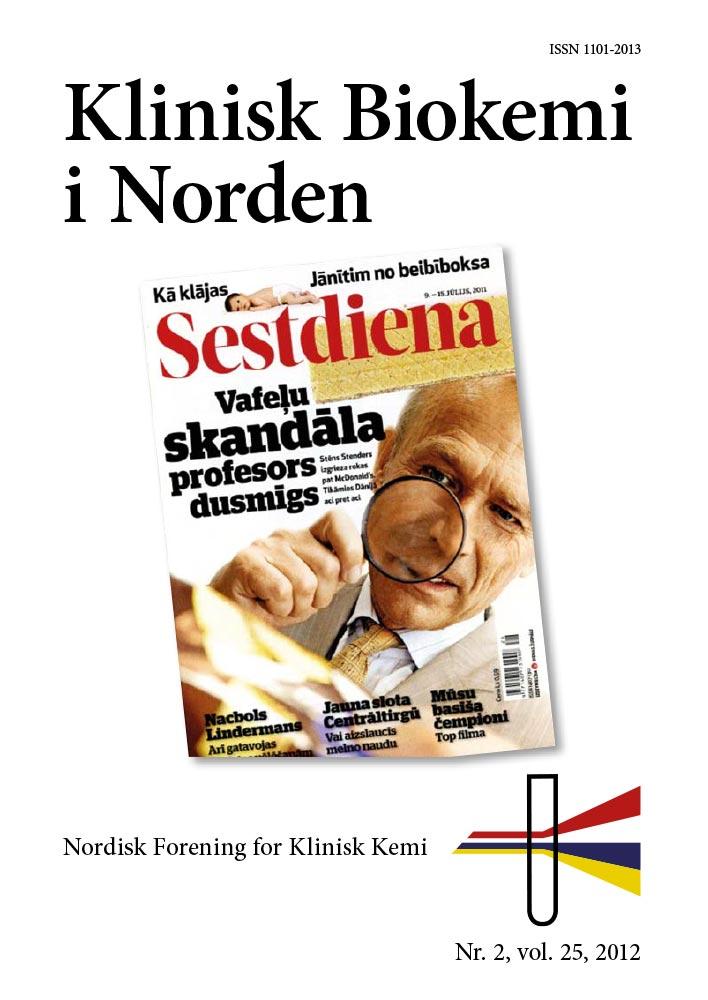 Klinisk Biokemi i Norden – Nr. 2, vol. 24, 2012