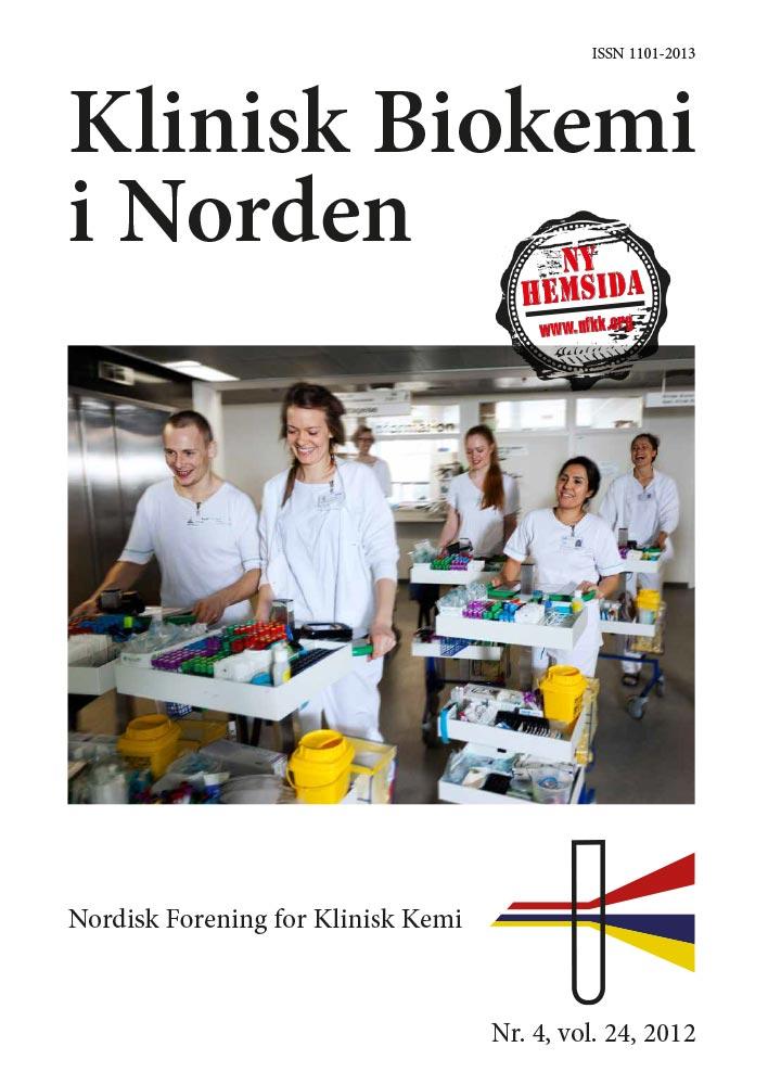 Klinisk Biokemi i Norden – Nr. 4, vol. 24, 2012