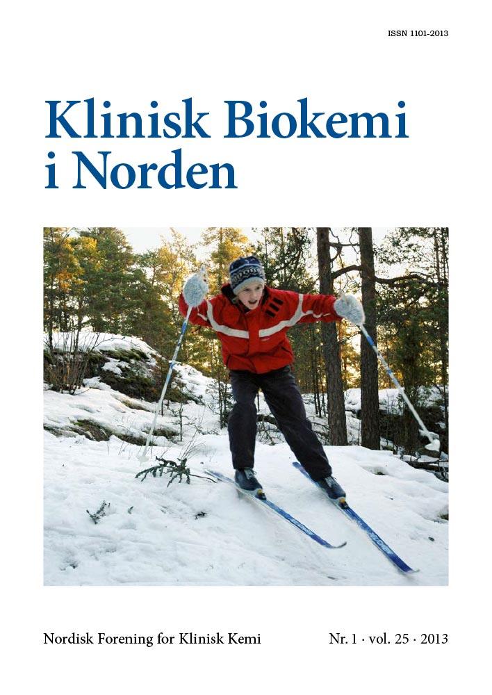 Klinisk Biokemi i Norden – Nr. 1, vol. 25, 2013
