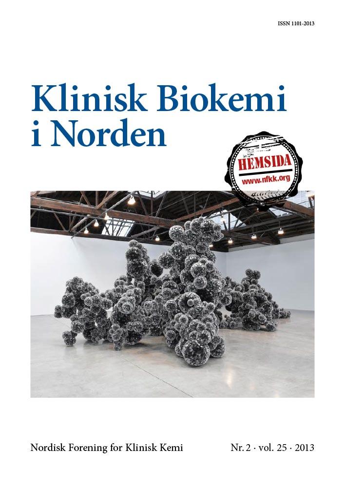 Klinisk Biokemi i Norden – Nr. 2, vol. 25, 2013