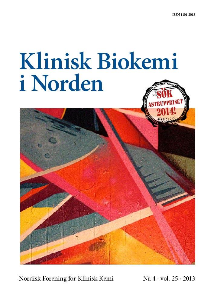 Klinisk Biokemi i Norden – Nr. 4, vol. 25, 2013