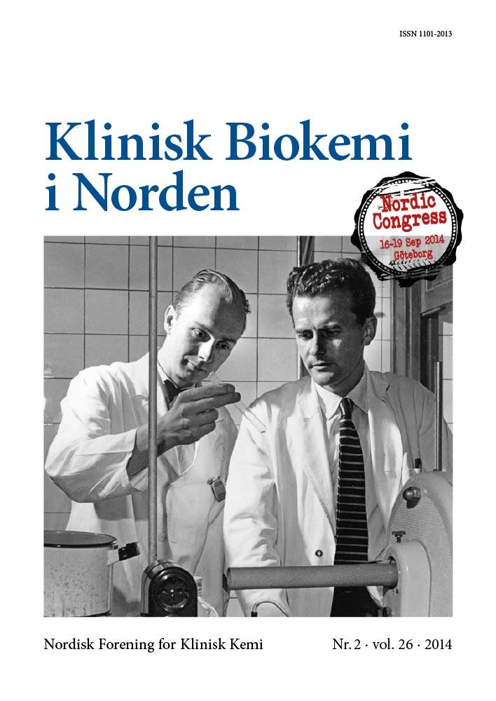 Klinisk Biokemi i Norden – Nr. 2, vol. 26, 2014