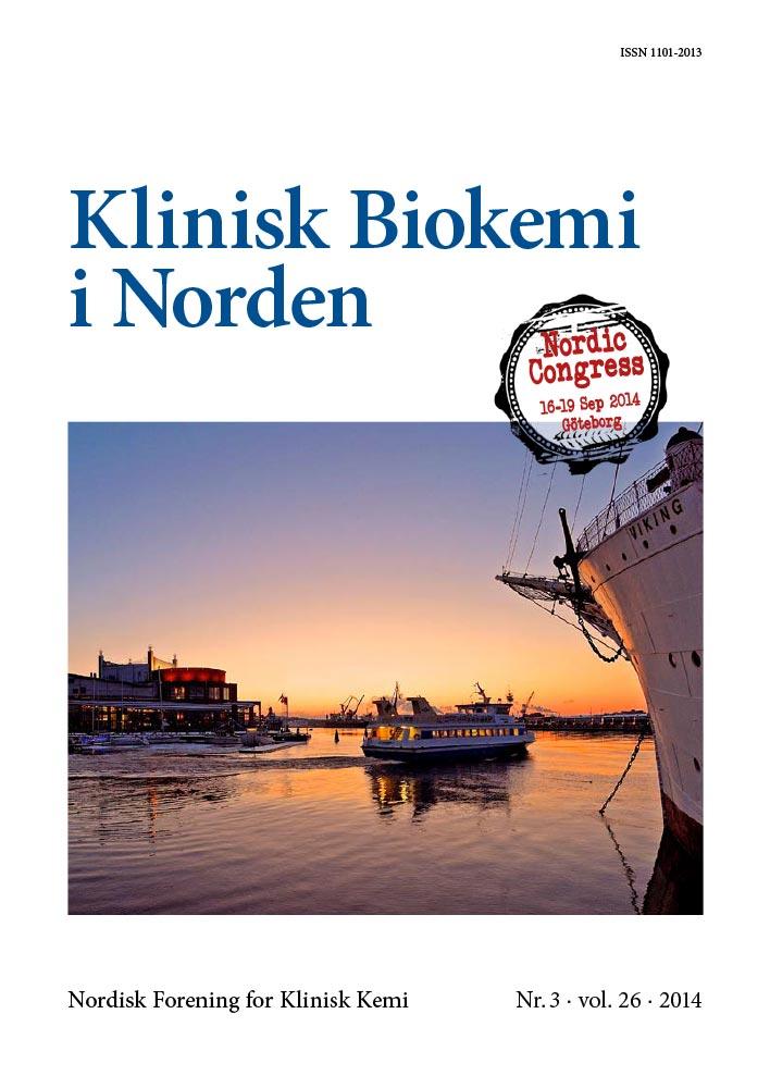 Klinisk Biokemi i Norden – Nr. 3, vol. 26, 2014