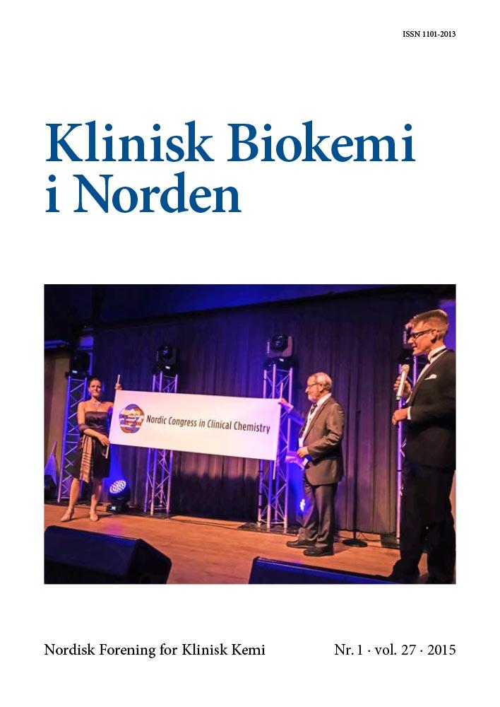 Klinisk Biokemi i Norden – Nr. 1, vol. 27, 2015