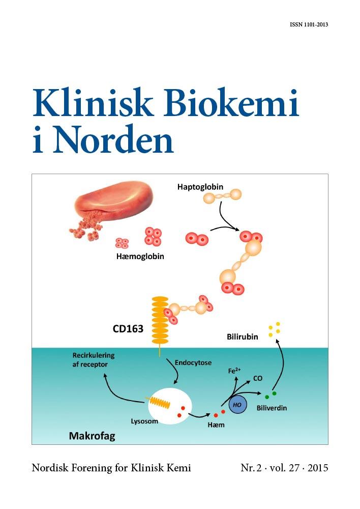 Klinisk Biokemi i Norden – Nr. 2, vol. 27, 2015